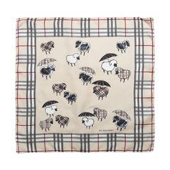 Sheep Umbrella Print Scarf