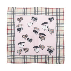 Sheep Umbrella Print Scarf