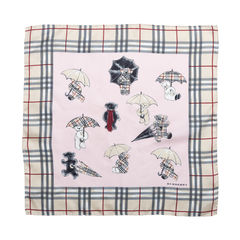 Teddy Umbrella Print Scarf