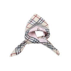 Burberry teddy umbrella print scarf pink 2?1537164146