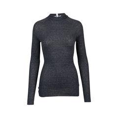 Ribbed Tunic Sweater