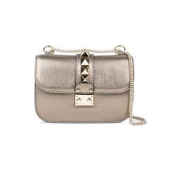 Rockstud Lock Small Shoulder Bag