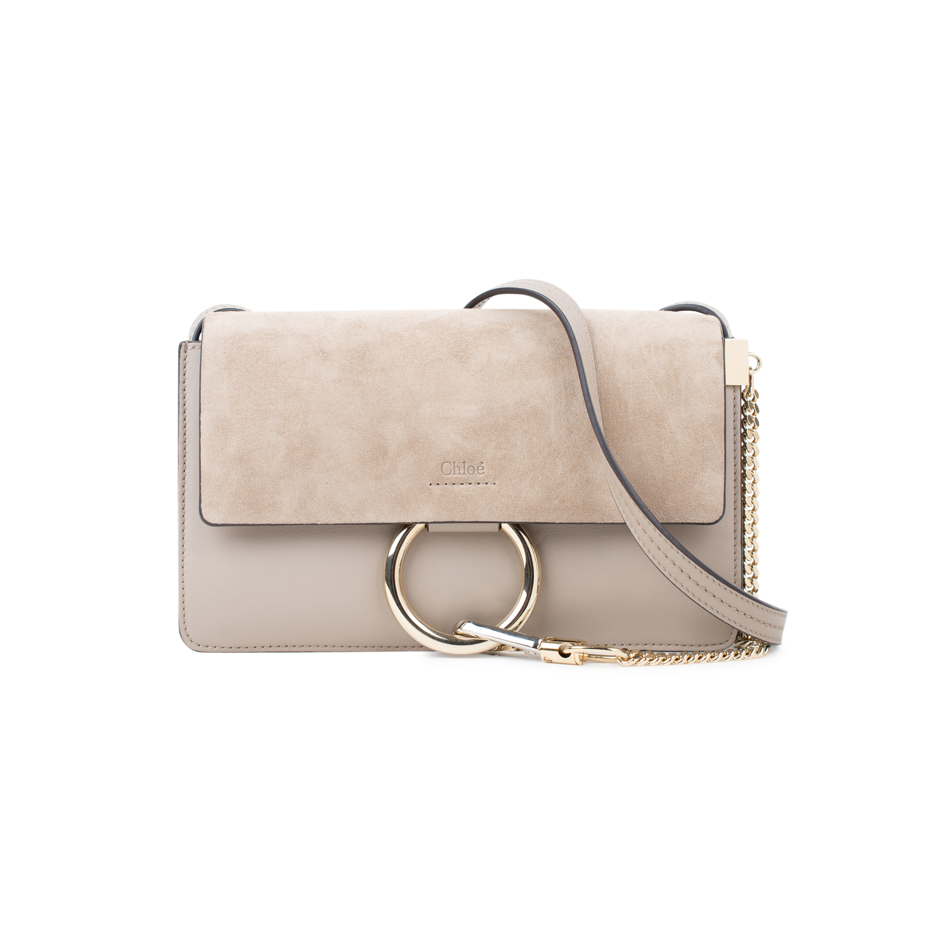 e9bea3513b2d2 Authentic Second Hand Chloé Faye Small Shoulder Bag (PSS-424-00094) - THE  FIFTH COLLECTION