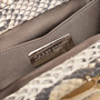 Authentic Pre Owned Darby Scott Python Clutch (PSS-145-00178) - Thumbnail 7