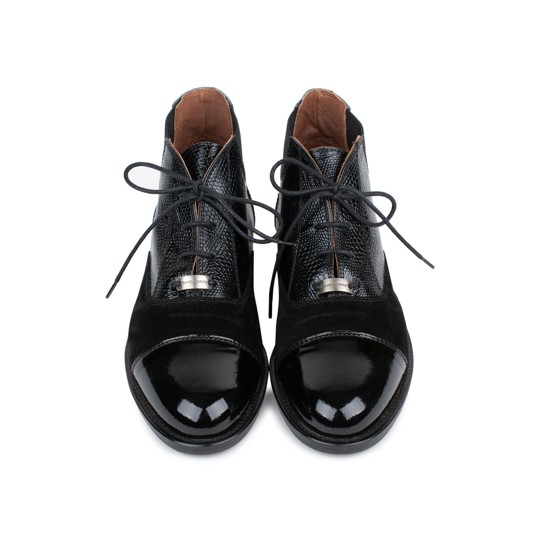 430aa2f4a97b Authentic Second Hand Russel And Bromley Berkley Lace-up Ankle Boot  (PSS-145-00200)