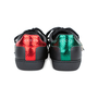 Authentic Pre Owned Gucci Ace Pierced Heart Leather Sneakers (PSS-145-00202) - Thumbnail 5