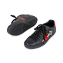 Authentic Pre Owned Gucci Ace Pierced Heart Leather Sneakers (PSS-145-00202) - Thumbnail 2