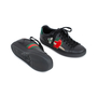 Authentic Pre Owned Gucci Ace Pierced Heart Leather Sneakers (PSS-145-00202) - Thumbnail 3