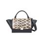 Authentic Second Hand Céline Watersnake Skin Flap Trapeze Bag (PSS-145-00214) - Thumbnail 0
