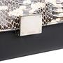 Authentic Second Hand Céline Watersnake Skin Flap Trapeze Bag (PSS-145-00214) - Thumbnail 4