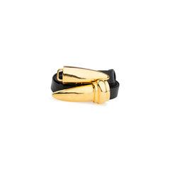 Donna karan gold clasp belt 2?1537382415
