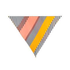 Issey miyake colourblock pleated scarf 2?1537382871