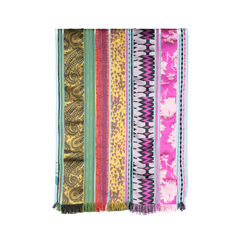 Etro multi fabric scarf 2?1537382914