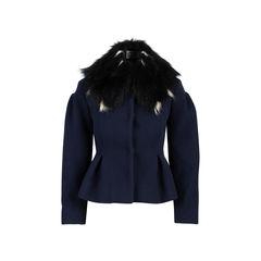 Fur Collar Car Coat
