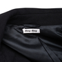 Authentic Pre Owned Miu Miu Buttoned Car Coat (PSS-515-00032) - Thumbnail 2