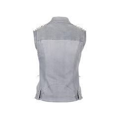 Pierre balmain denim studded vest 2?1537460380