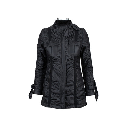 Authentic Second Hand Valentino Lace Trim Down Jacket (PSS-515-00044)