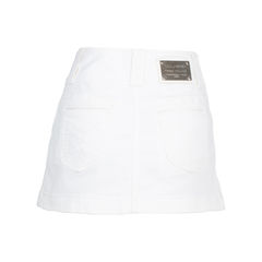 Dolce gabbana denim skirt white 2?1537460576