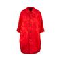 Authentic Pre Owned Comme Des Garçons Floral Jacquard Coat Dress (PSS-145-00182) - Thumbnail 0