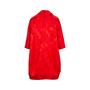 Authentic Pre Owned Comme Des Garçons Floral Jacquard Coat Dress (PSS-145-00182) - Thumbnail 1
