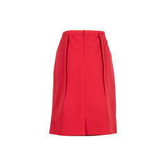 Jil sander a line skirt red 2?1537548038