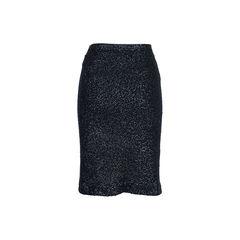 Donna karan sequined cashmere blend skirt 2?1537548125