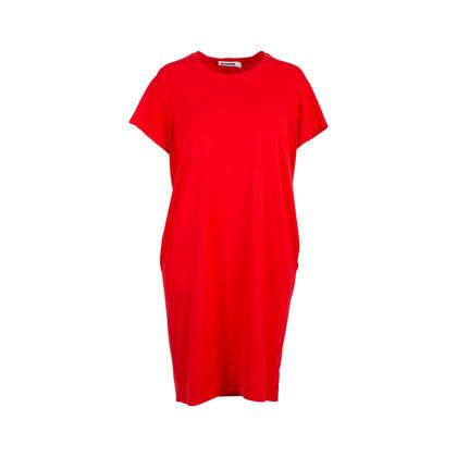 Authentic Second Hand Jil Sander T-shirt Dress (PSS-145-00228)