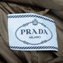 Authentic Second Hand Prada Belted Raincoat (PSS-145-00233) - Thumbnail 4
