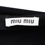Authentic Second Hand Miu Miu Ruffle Flare Top (PSS-515-00073) - Thumbnail 2