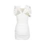 Authentic Second Hand Isabel Marant Ruffle Cotton Gauze Dress (PSS-515-00084) - Thumbnail 1