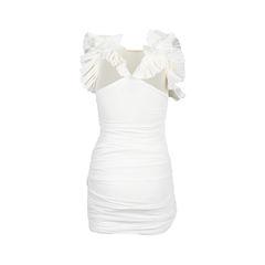 Isabel marant ruched ruffle dress 2?1537861164