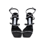 Authentic Pre Owned Jimmy Choo Logo Rubber Strap Sandals (PSS-546-00001) - Thumbnail 0