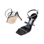Authentic Pre Owned Jimmy Choo Logo Rubber Strap Sandals (PSS-546-00001) - Thumbnail 2