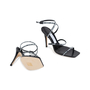 Authentic Pre Owned Jimmy Choo Logo Rubber Strap Sandals (PSS-546-00001) - Thumbnail 3
