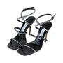 Jimmy Choo Logo Rubber Strap Sandals - Thumbnail 4