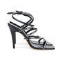 Authentic Pre Owned Jimmy Choo Logo Rubber Strap Sandals (PSS-546-00001) - Thumbnail 1