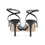 Authentic Pre Owned Jimmy Choo Logo Rubber Strap Sandals (PSS-546-00001) - Thumbnail 5