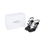 Authentic Pre Owned Jimmy Choo Logo Rubber Strap Sandals (PSS-546-00001) - Thumbnail 6