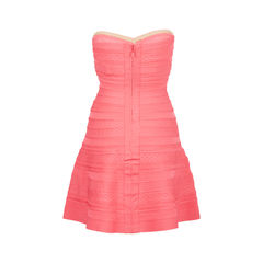 Herve leger strapless flare dress 2?1537864150
