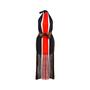 Authentic Pre Owned Fendi Fringe Striped Chiffon Dress (PSS-515-00040) - Thumbnail 0