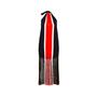 Authentic Pre Owned Fendi Fringe Striped Chiffon Dress (PSS-515-00040) - Thumbnail 1