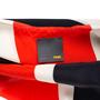 Authentic Pre Owned Fendi Fringe Striped Chiffon Dress (PSS-515-00040) - Thumbnail 2