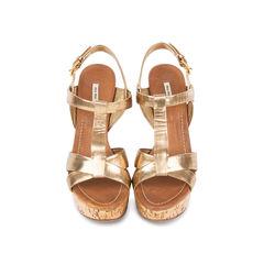 Cork Platform Sandals