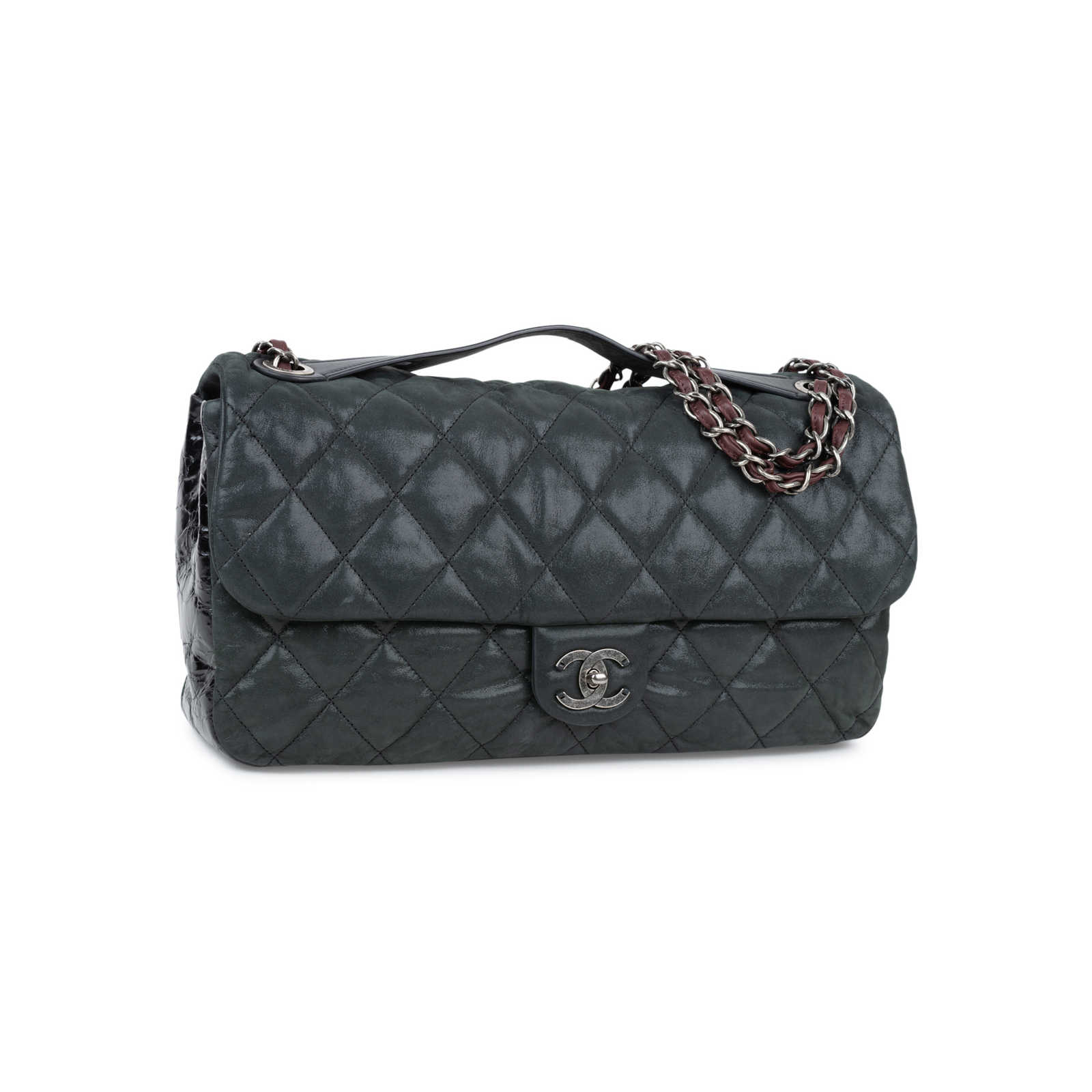 93dbaa25bfba71 ... Authentic Second Hand Chanel In The Mix Jumbo Flap Bag (PSS-556-00006  ...