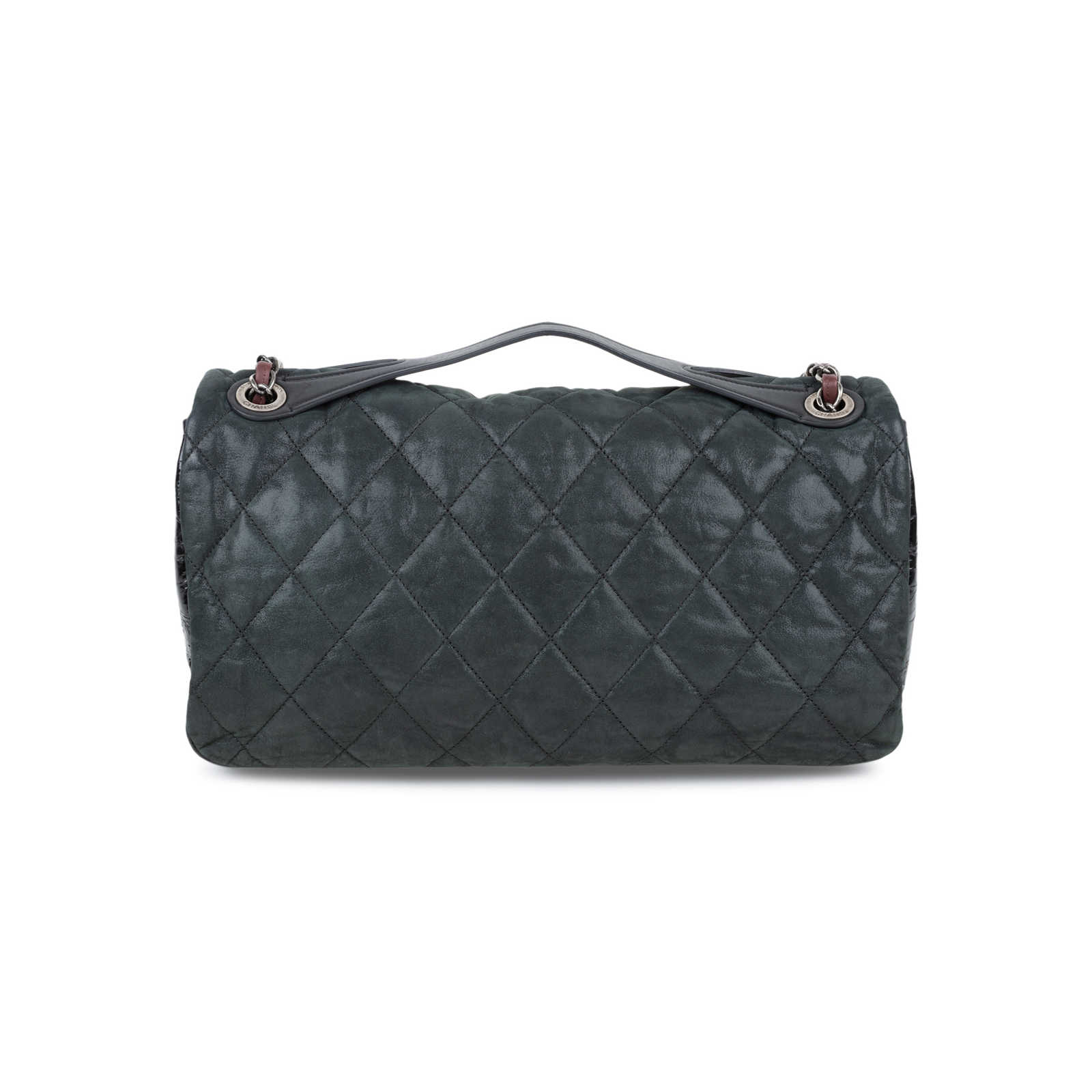 d2ab10adc856 ... Authentic Second Hand Chanel In The Mix Jumbo Flap Bag (PSS-556-00006  ...