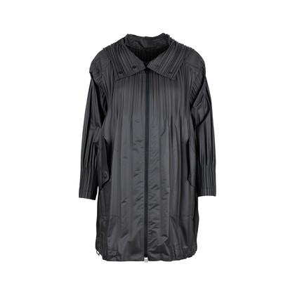 Authentic Second Hand Pleats Please Pleat Detail Waterproof Coat (PSS-145-00197)