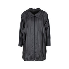 Pleat Detail Waterproof Coat