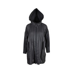 Pleats please pleat detail waterproof coat 2?1537887372