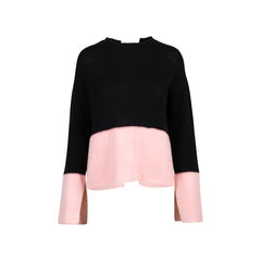 Openback Cashmere Sweater