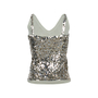 Authentic Second Hand Donna Karan Sequined Tank Top (PSS-145-00194) - Thumbnail 1